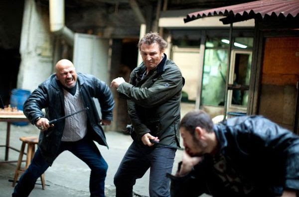 Liam Neeson takes on Albanian bad guys in TAKEN 2.
