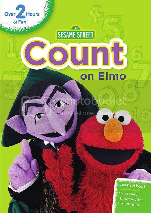 Count on Elmo DVD