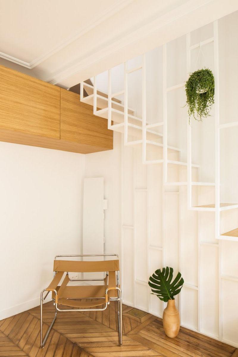 Escadas incrivelmente projetadas que estão um degrau acima das demais 22