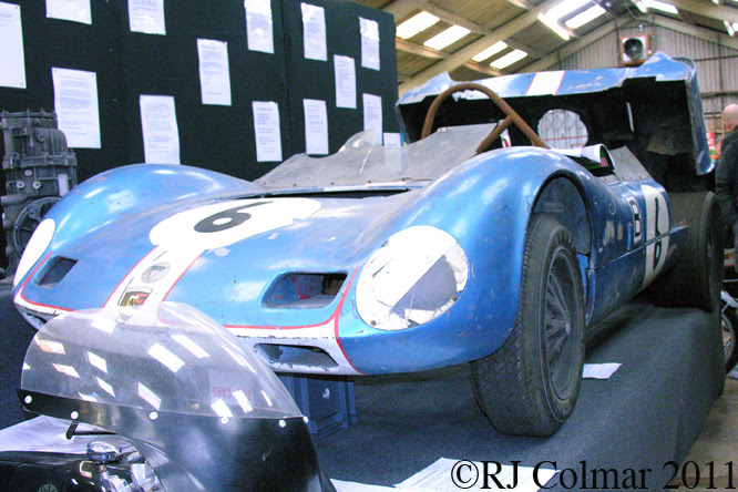 Elva Porsche Mk VII, Race Retro