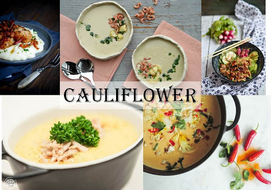 Top 5 Cauliflower Recipes (from bloggers) | Brussels Food Friends
