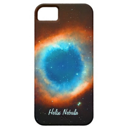 Helix Nebula, Galaxies and Stars iPhone 5 Case