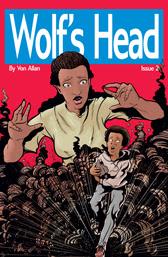 Wolf's Head Issue 2 cover by Von Allan