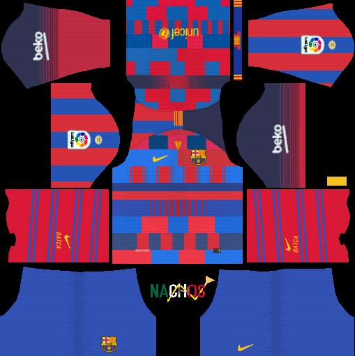 Fc Barcelona Equipacion Dream League Soccer
