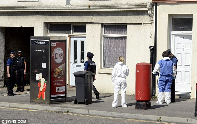 Forensic experts and police officers were called to the flat in Dover last August after Mr Williams had died