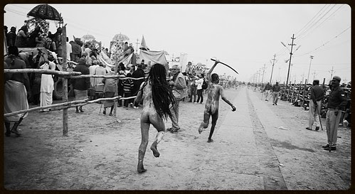 The Naga Sadhus Are Coming... by firoze shakir photographerno1