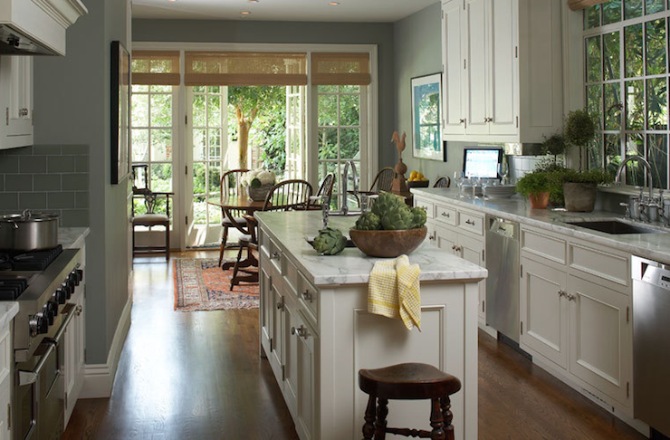 Kitchen Wall Colors with White Cabinets
