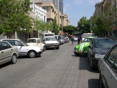 parallel parking-israeli style