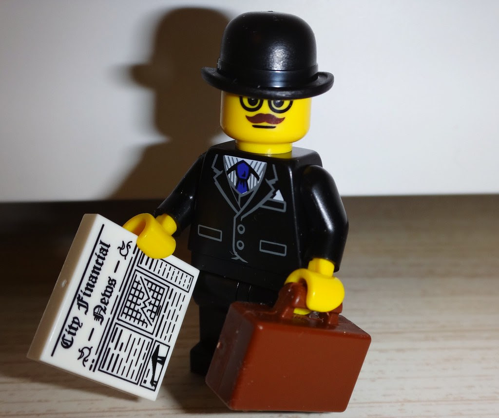Lego Minifig Series 8 Business Man