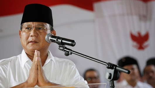 Prabowo Remains in Presidential Race