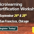 Microlearning Certification Workshop In USA - eLearning Industry