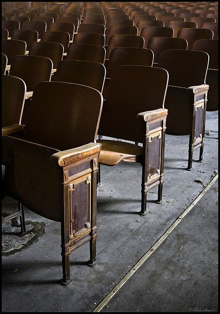 the old auditoriums