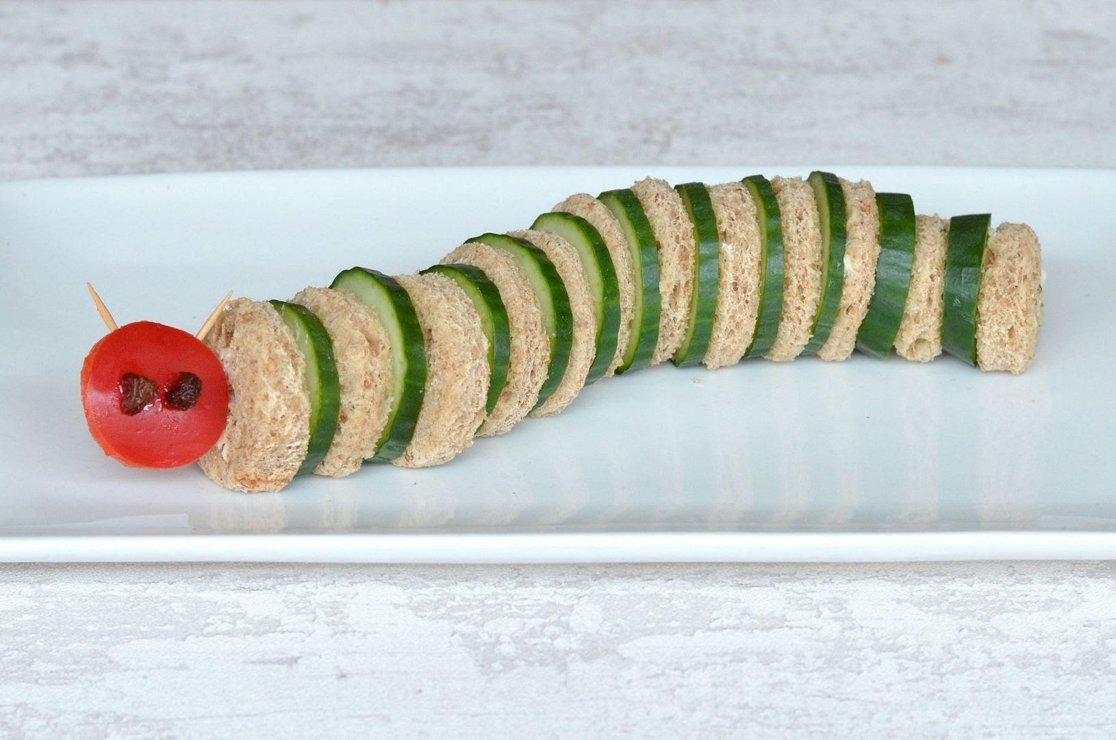 cucumber caterpillar