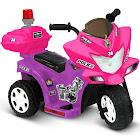 Kid Motorz Lil Patrol Purple and Pink 6V