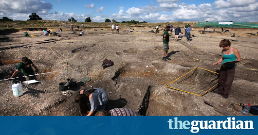 British archaeology is in a fight for survival | Science | The Guardian