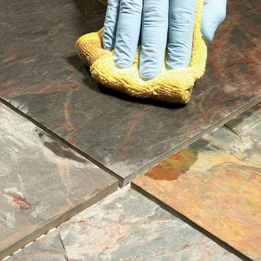 Grouting Tile Floors: Porous and Uneven Tiles | The Family Handyman