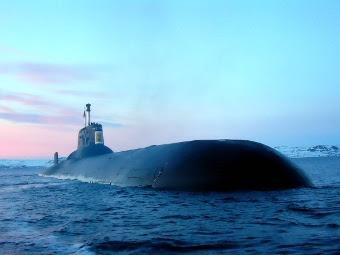 """АПЛ проекта 941 """"Акула"""". Фото с сайта korabley.net"""