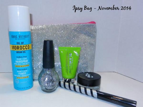 Ipsy Bag Review - November 2014