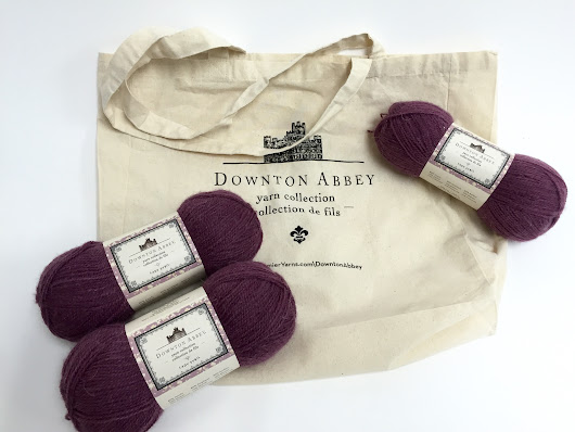 Downton Abbey Lady Sybil Yarn and Tote Bag Giveaway