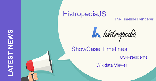 Time for an Update! HistropediaJS & ShowCase Timelines - Histropedia Blog