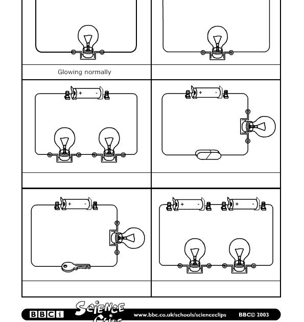 Electric Circuits Worksheet Answers