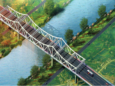 Steel Construction Bridge is removable and portable – China Supplier