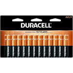 Duracell Coppertop AA Alkaline Batteries - 24 Pack