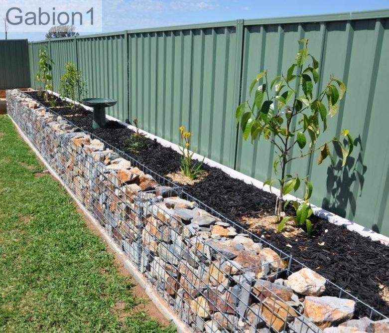 gabion garden wall