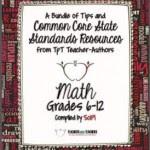 Common Core Math FREE Back-to-School ebook: Grades 6-12