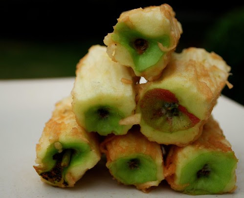 Grated Apple Pie - cores