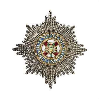 Order of St. Patrick, Star