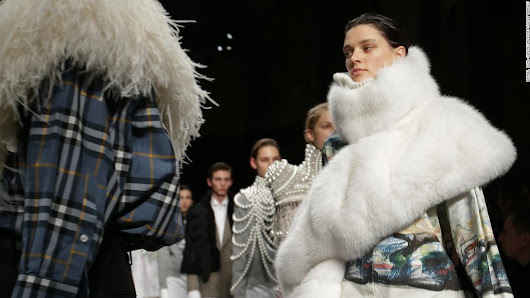 London Fashion Week drops fur from runway