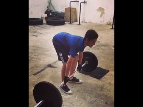 dead lift youth training