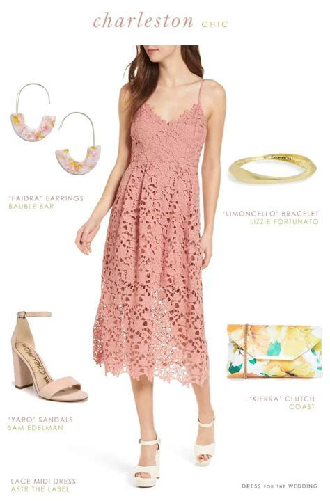 What to Wear to a Charleston Wedding   Dress for the Wedding
