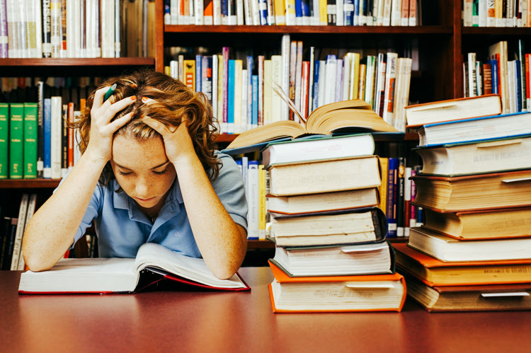 Image result for free photo-image of students under stress