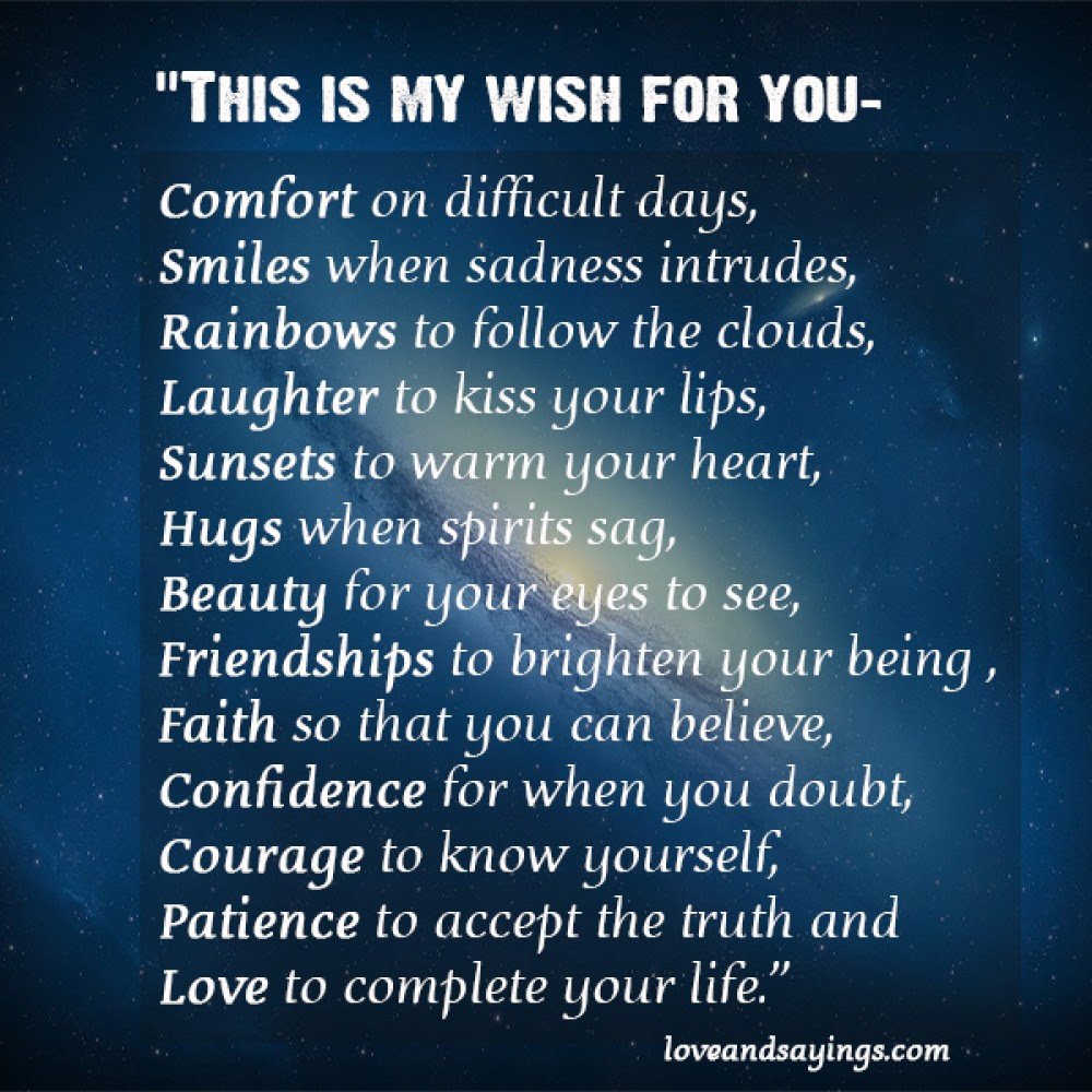 Quotes About My Wish For You 34 Quotes