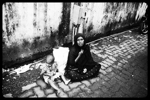 The Life Of The Muslim Beggar Does Not Change by firoze shakir photographerno1