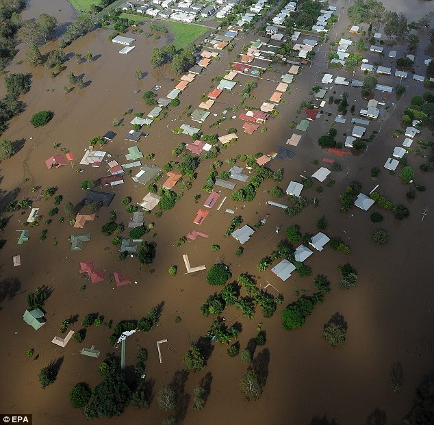 Haunted Places In Ipswich Qld: ShahRay: Australia Floods