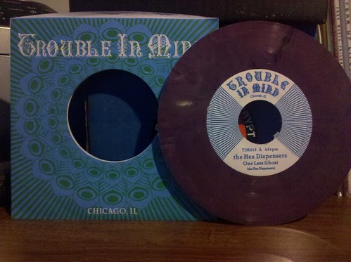 "Hex Dispensers - One Less Ghost 7"" - Purple Vinyl /500 by factportugal"