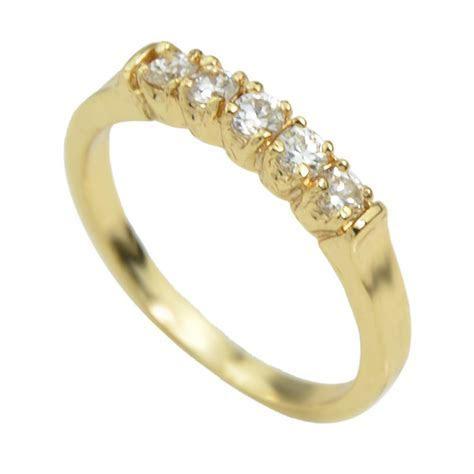 2018 Cheap Wholesale Simple Rhinestone Latest Gold Ring