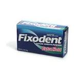 Fixodent Extra Hold, Denture Adhesive Powder 1.6 oz