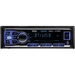 Boss Audio 611UAB Single-DIN In-Dash Mechless AM-FM Receiver With Bluetooth