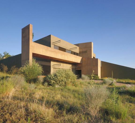 Desert House in Albuquerque by Modern Architect Antoine ...