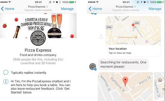 Chatbots y marketing. El caso de éxito de Pizza Express