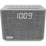 iHome iBT232 Bluetooth Clock Radio - Gray