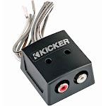 Kicker 46KISLOC K-Series 2-Channel Speaker to RCA Line Out Converter