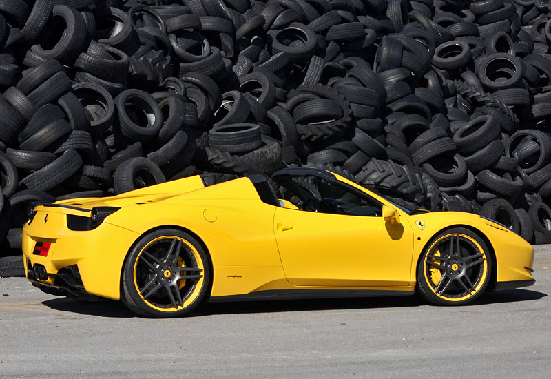 2012 Ferrari 458 Spider Novitec Rosso Specifications