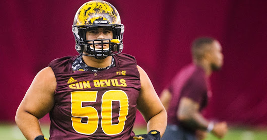 'Iron Nick' Kelly keeps overcoming obstacles to lead ASU football