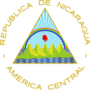 Ficheiro:Coat of arms of Nicaragua.svg