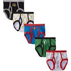Justice League Boys 5-pk. Brief Underwear Multi